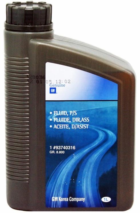 Жидкость ГУР GM PSF (1 л.) 93740316