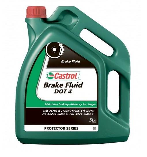 Тормозная жидкость Castrol Brake Fluid DOT 4 (5 л.) 157D4E