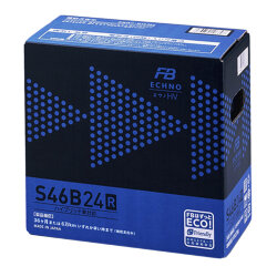 Аккумулятор Furukawa Battery ECHNO HV 45Ah 325A 236x126x227 п.п. (+-) S46B24R