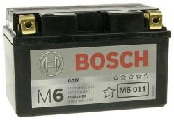 Аккумулятор Bosch M6 12V 8Ah 150A 150x87x93 п.п. (+-) 0092M60110