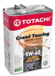 Моторное масло Totachi Grand Touring 5W-40 (4 л.) 4562374690844