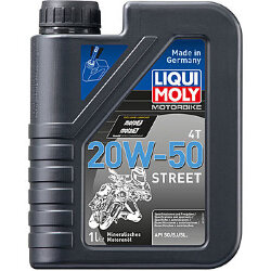 Масло четырехтактное Liqui Moly Motorbike 4T Street 20W-50 (1 л.) 7632