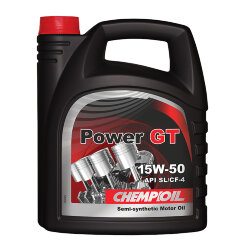 Моторное масло Chempioil Power GT 15W-50 (4 л.) S4032