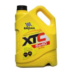 Моторное масло Bardahl XTC 5W-40 (4 л.) 36162