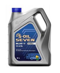 Моторное масло S-Oil Seven BLUE7 CI-4/SL 15W-40 (6 л.) E107825