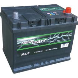 Аккумулятор Gigawatt 0185756804 68Ah 550A 271x175x220 о.п. (-+) (ETN 568404055 G68JR)