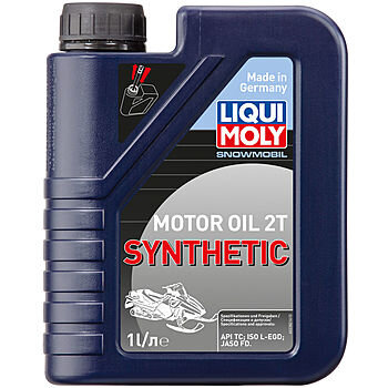 Масло двухтактное Liqui Moly Snowmobil Motoroil 2T Synthetic L-EGD (1 л.) 2382