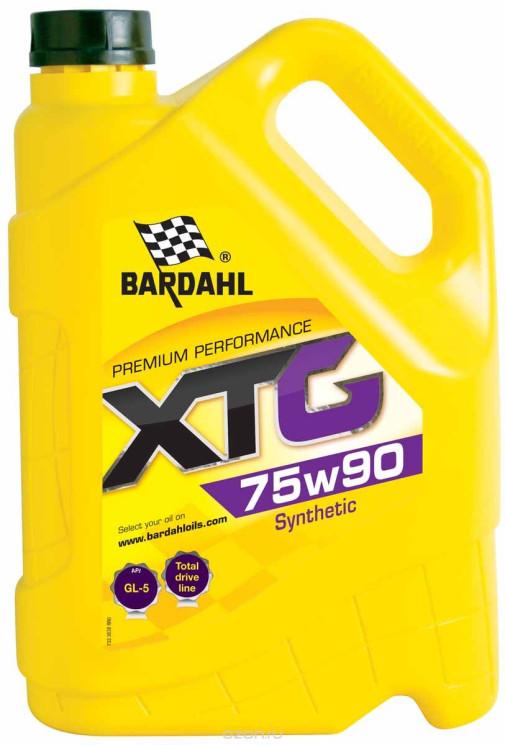 Трансмиссионное масло Bardahl XTG 75W-90 (5 л.) 36383