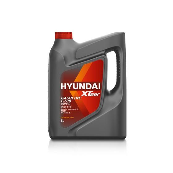 Моторное масло Hyundai (Kia) Xteer Gasoline G700 10W-30 (6 л.) 1061012