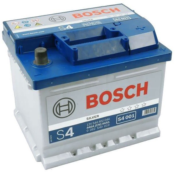 Аккумулятор Bosch S4 44Ah 440A 207x175x175 о.п. (-+) 0092S40010
