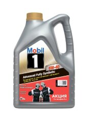 Моторное масло Mobil 1 FS 5W-40 (5 л.) 155583