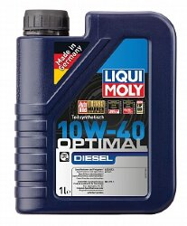 Моторное масло Liqui Moly Optimal Diesel 10W-40 (1 л.) 3933