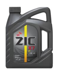 Моторное масло ZIC X7 LS 10W-40 (4 л.) 162620