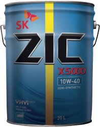 Моторное масло ZIC X5000 10W-40 (20 л.) 192658