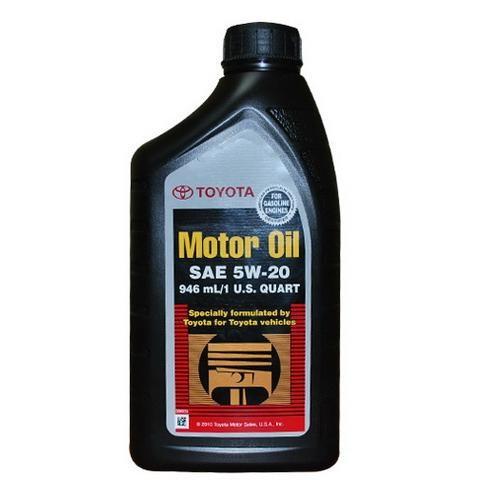 Моторное масло Toyota SM 5W-20 (1 л.) 00279-1QT20