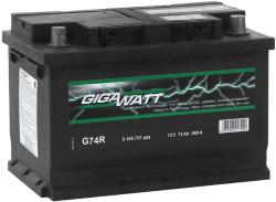 Аккумулятор Gigawatt 0185757404 74Ah 680A 278x175x190 о.п. (-+) (ETN 574104068 G74R)