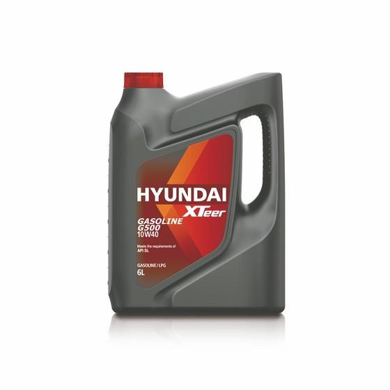 Моторное масло Hyundai (Kia) Xteer Gasoline G500 10W-40 (6 л.) 1061044