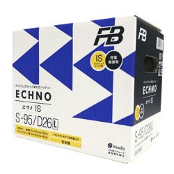 Аккумулятор Furukawa Battery ECHNO IS 64Ah 680A 257x170x225 о.п. (-+) S95D26L