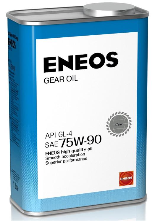 Трансмиссионное масло Eneos Gear 75W-90 GL-4 (1 л.) 8809478942506
