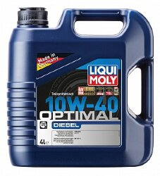 Моторное масло Liqui Moly Optimal Diesel 10W-40 (4 л.) 3934
