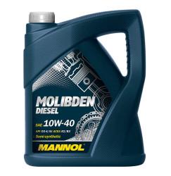 Моторное масло Mannol Molibden Diesel 10W-40 (5 л.) 1126