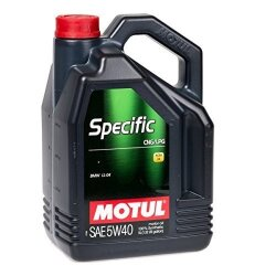 Моторное масло Motul Specific CNG-LPG 5W-40 (5 л.) 101719