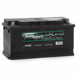 Аккумулятор Gigawatt 0185760002 100Ah 830A 353x175x190 о.п. (-+) (ETN 600402083 G100R)