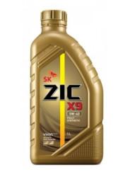Моторное масло ZIC X9 5W-40 (1 л.) 132902