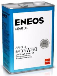 Трансмиссионное масло Eneos Gear 75W-90 GL-4 (4 л.) 8809478942513