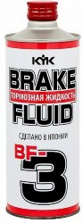 Тормозная жидкость KYK Brake Fluid BF-3 (1 л.) 58-107