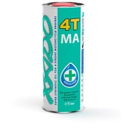 Масло четырехтактное XADO Atomic Oil 10W-40 4T MA Super Synthetic (1 л.) XA 21132-XA 20132