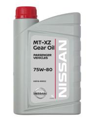 Трансмиссионное масло Nissan MT XZ Gear Oil 75W-80 (1 л.) KE916-99932