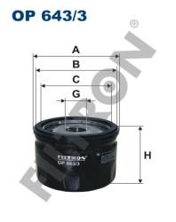 Фильтр масляный Filtron OP6433