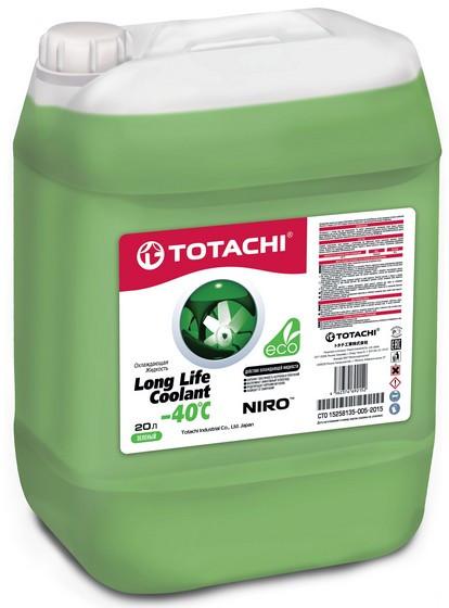 Охлаждающая жидкость Totachi Niro Long Life Coolant -40C (20 л.) 4562374692152