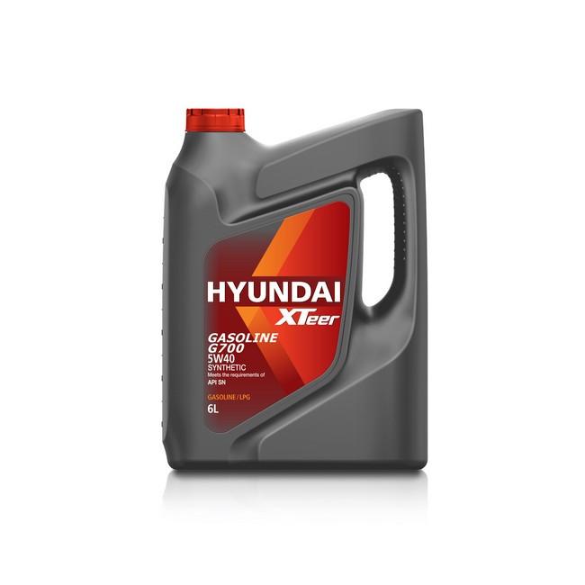 Моторное масло Hyundai (Kia) Xteer G700 5W-40 (6 л.) 1061136