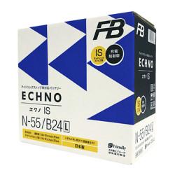 Аккумулятор Furukawa Battery ECHNO IS 42Ah 440A 236x126x227 о.п. (-+) N55B24L