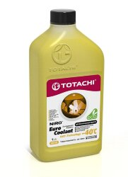 Охлаждающая жидкость Totachi Niro Euro Coolant OAT-Technology -40C (1 л.) 4589904927188