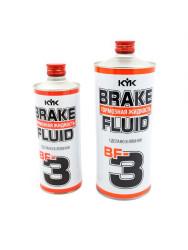 Тормозная жидкость KYK Brake Fluid DOT 3 (0,5 л.) 58-057