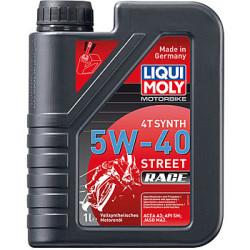Масло четырехтактное Liqui Moly Motorbike 4T Synth Street Race 5W-40 (1 л.) 2592