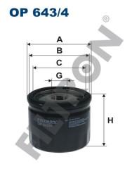 Фильтр масляный Filtron OP6434