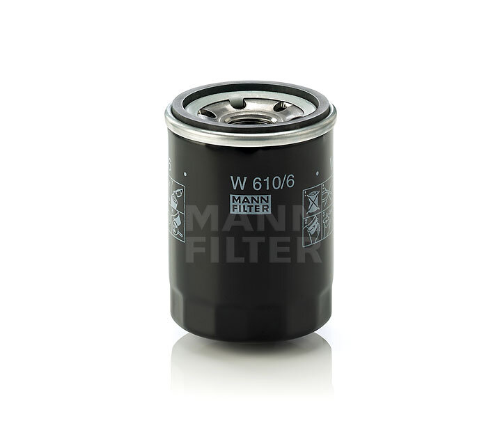 Фильтр масляный Mann-Filter W6106