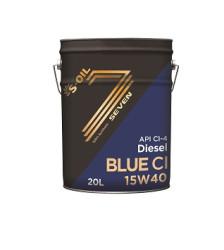 Моторное масло S-Oil Seven BLUE CI 15W-40 (20 л.) DSoilBLUE15W40_20