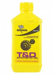 Трансмиссионное масло Bardahl T-D Oil 75W-90 (1 л.) 425140