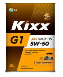 Моторное масло Kixx G1 5W-50 SN Plus (4 л.) L210344TE1