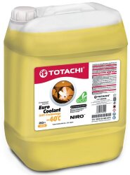 Охлаждающая жидкость Totachi Niro Euro Coolant OAT-Technology -40C (20 л.) 4562374692114