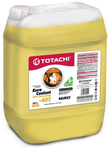Охлаждающая жидкость Totachi Niro Euro Coolant OAT-Technology -40C (20 л.) 4562374692114