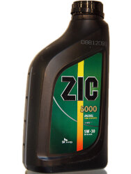 Моторное масло ZIC 5000 Diesel 5W-30 (1 л.) 133134