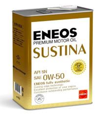 Моторное масло Eneos Sustina 0W-50 (4 л.) 4943589134598