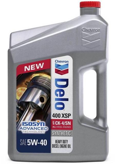 Моторное масло Chevron Delo 400 XSP Synthetic 5W-40 (3,785 л.) 023968391454