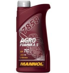 Масло двухтактное Mannol Agro Formula S (1 л.) 6013